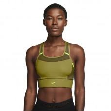Nike Wmns Swoosh Medium-Support 1-Piece Pad Pocket Sports liemenėlė - Sports bras