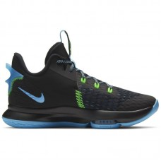 Nike LeBron Witness V Black Blue - Basketbola apavi