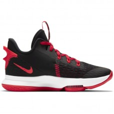 Nike LeBron Witness V Black Red - Basketbola apavi