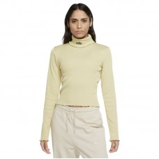 Nike Wmns Sportswear Ribbed Long-Sleeve marškinėliai - T-särgid
