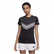 Nike Wmns Sportswear Bandana Print marškinėliai - T-särgid