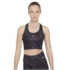 Nike Wmns Dri-FIT Swoosh Icon Clash Medium-Support 1-Piece Pad Longline Sports liemenėlė - Spordirinnahoidjad