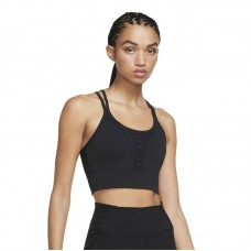 Nike Wmns Dri-FIT Cropped Laced Training Tank marškinėliai - T-särgid