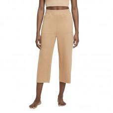 Nike Wmns Yoga Luxe Cropped Fleece kelnės - Kelnės