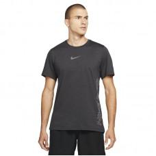 Nike Pro Dri-FIT Burnout SS treniruočių marškinėliai - Marškinėliai
