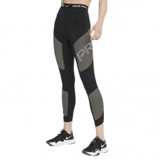 Nike Wmns Pro Dri-FIT High-Waisted 7/8 Graphic tamprės - Timpos