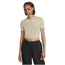 Nike Wmns Sportwear Swoosh SS laisvalaikio marškinėliai - Marškinėliai