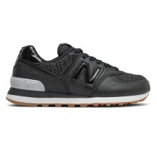 New Balance WMNS 574 Black White - New Balance jalatsid